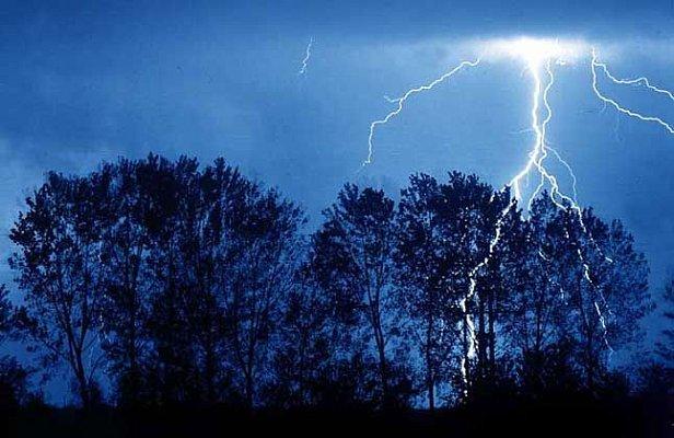 На Черниговщине от удара молнии погиб курсант