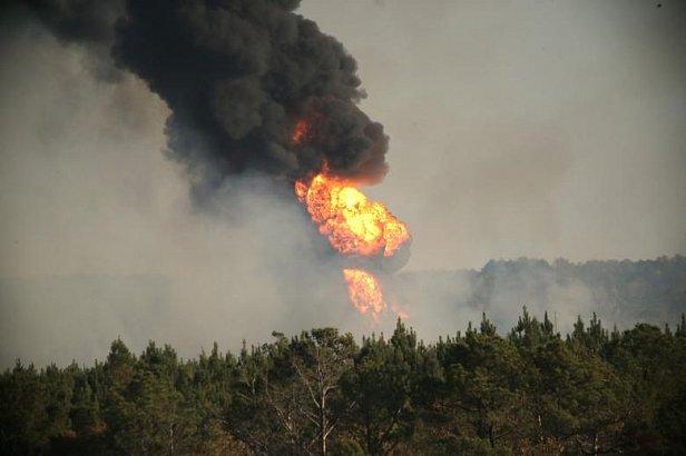 В штате Алабама из-за взрыва на газопроводе введено ЧП