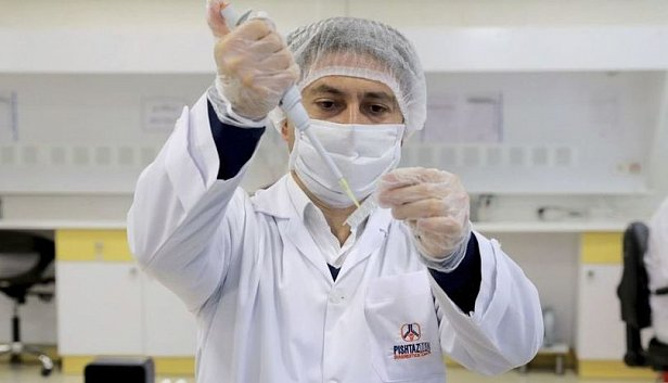Фото — Тестирование на коронавирус