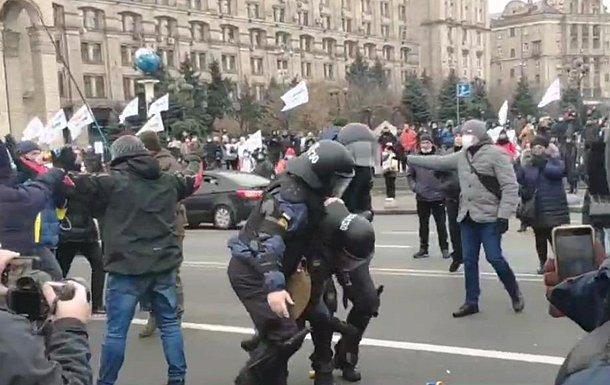 Фото - Столкновения на Майдане