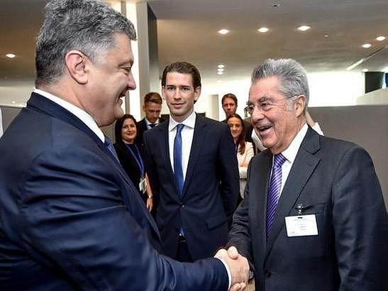 Порошенко: Австрия направит бизнес-миссию в Украину