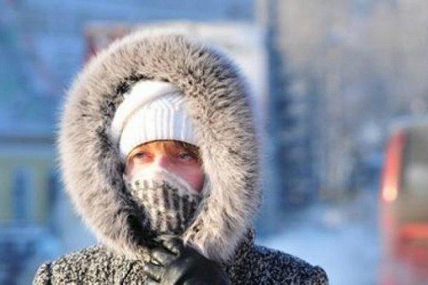 Фото — Мороз в Украине