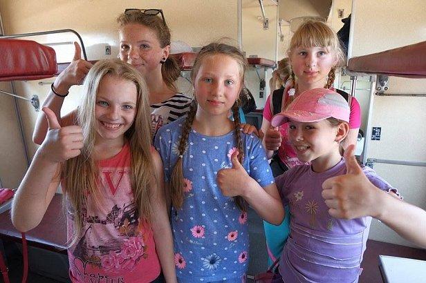 Около 50 детей из прифронтовых территорий Донбасса отправили на отдых в Одессу