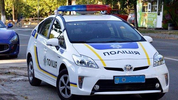 В Киеве машина патрульной полиции сбила пешехода (фото