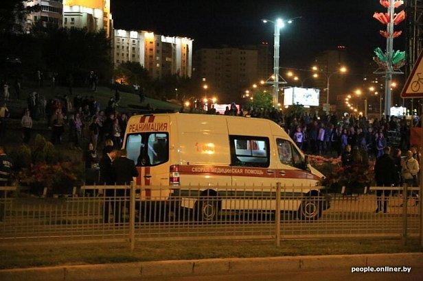 Фото - В Минске случилось ЧП на Дне Независимости