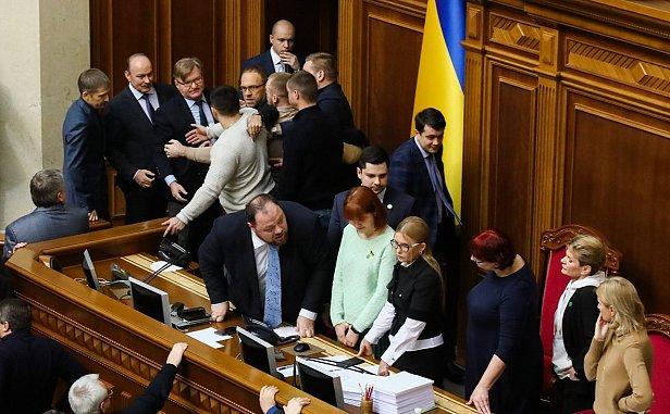 Фото — Юлия Тимошенко на месте Разумкова