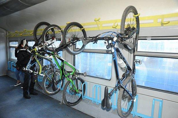 В поезде Львов-Мукачево можно возить велосипеды