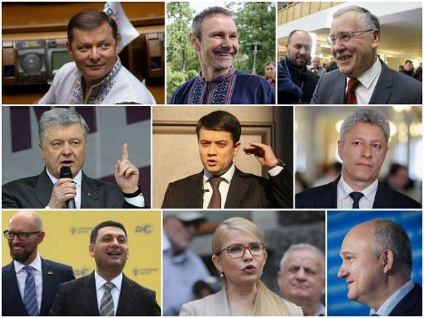 Фото - Какие партии проходят в Верховную Раду