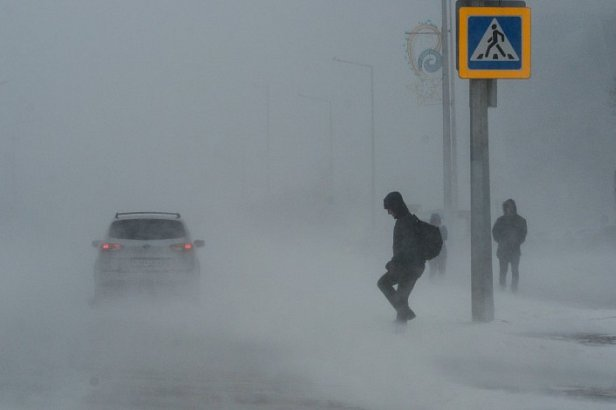 На Украину надвигается снежная буря: синоптики предупредили об ухудшении погоды