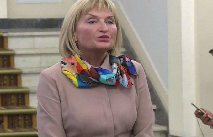 Жена Луценко сильно удивила украинцев новым образом