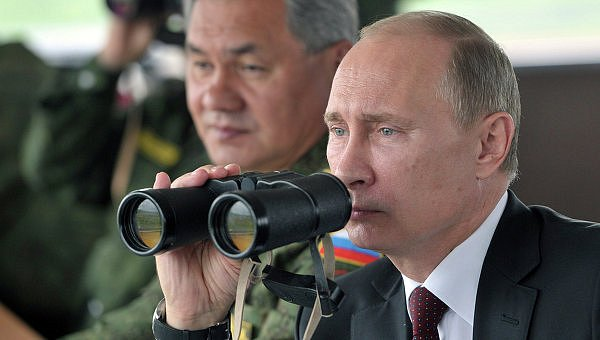 Путин лично запустил четыре баллистические ракеты (видео)
