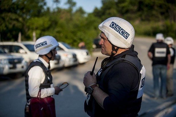 Фото - миссия ОБСЕ на Донбассе