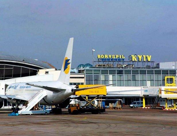 Аэропорты Украины увеличили пассажиропоток на 13,1%